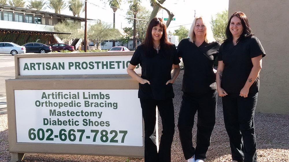 Artisan Prosthetics Phoenix Arizona Team